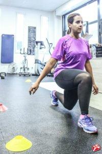 Musculation des jambes avec une fente